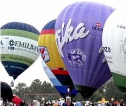 Raduno mongolfiere per grandi eventi