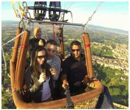 Volare in Mongolfiera - Ballon Team Italia