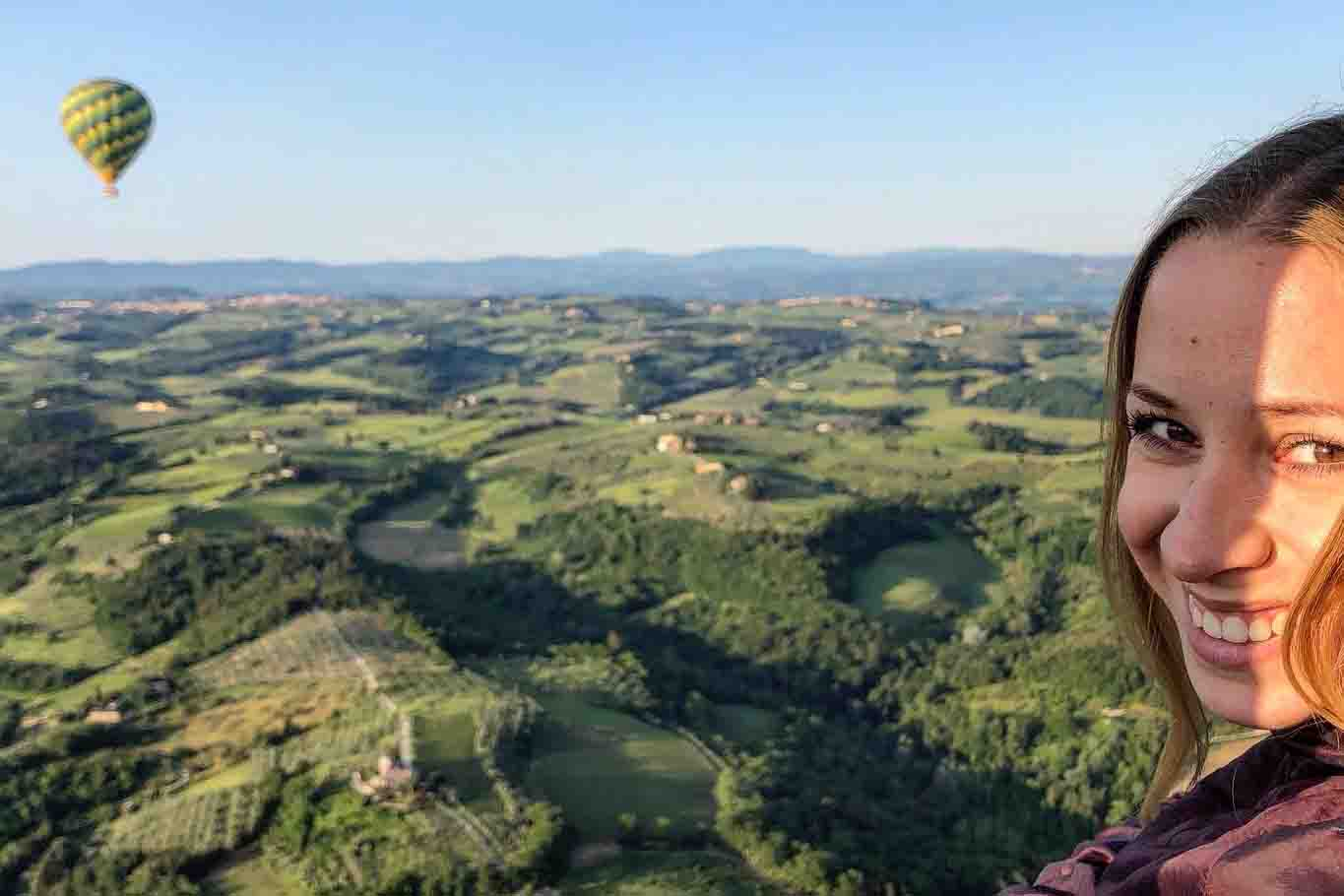 Le Mongolfiere in toscana